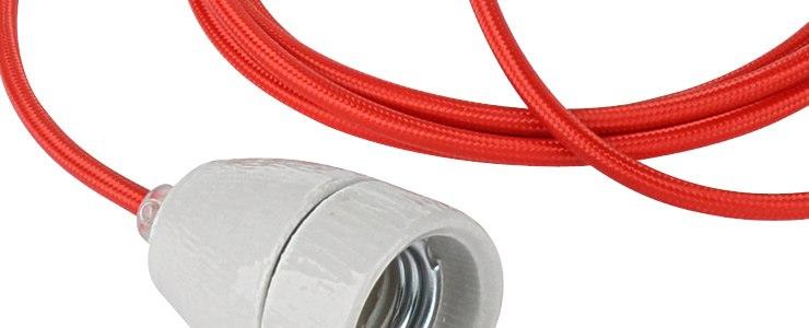 Farbige Elektrokabel textilkabel stoffkabel kabelscheune de
