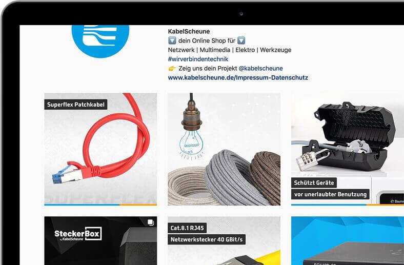 KabelScheune Instagram Unternehmensprofil