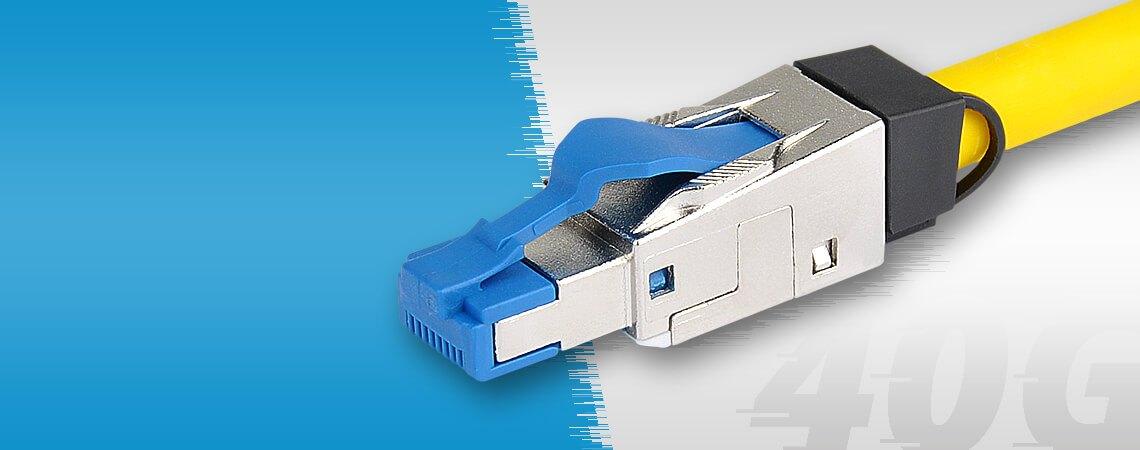 Metz Connect Cat.8.1 RJ45 Netzwerkstecker 40 GBit/s - KabelScheune.de