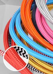 Textilkabel / Stoffkabel