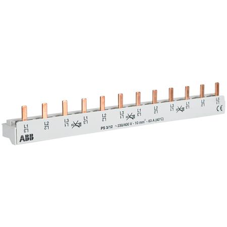 ABB 3-Phasenschiene 12 TE