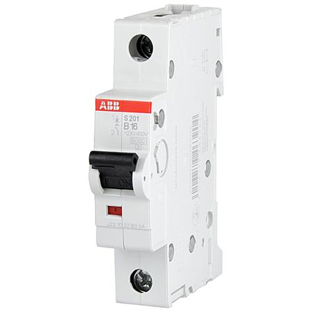 ABB Sicherungsautomat Leitungsschutzschalter 1-polig B10 A