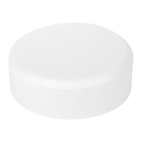 Abzweig Baldachin Kunststoff weiß