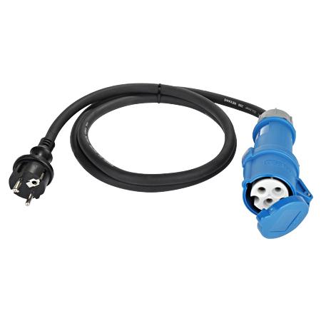 Adapterleitung Caravan CEE-Kupplung 3-polig