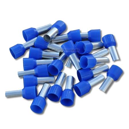 Aderendh�lsen 16,00 mm� blau (20 St�ck)