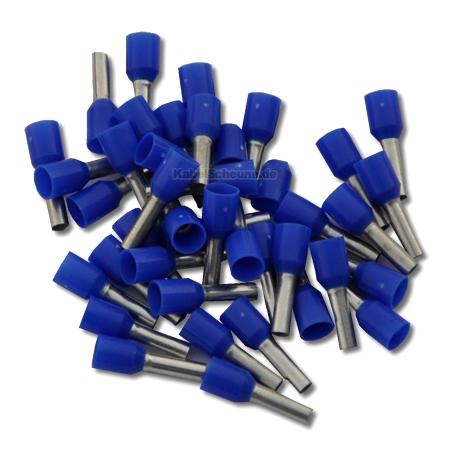 Aderendhülse 2,50 mm² blau 100 Stück