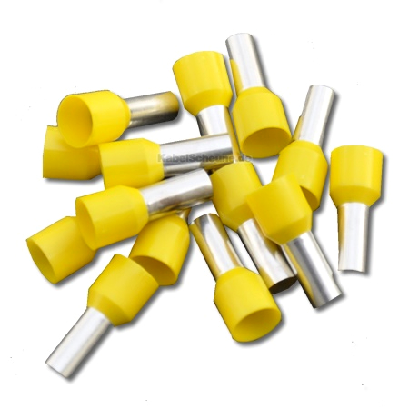 Aderendhülse 25,00 mm² gelb 10 Stück