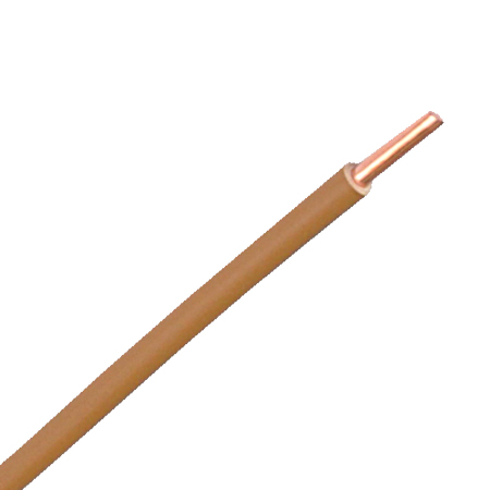 Aderleitung starr H07V-U 1x2,5 mm² braun 100 m