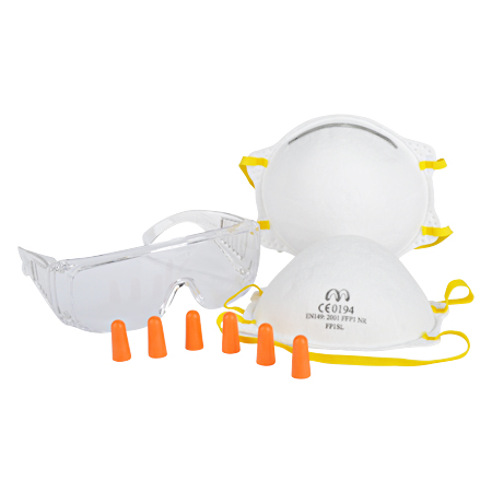 Arbeitsschutz-Set 6-teilig