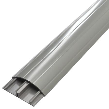 Aufbodenkanal 12x50 grau 1,5 m