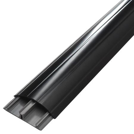 Aufbodenkanal 12x50 schwarz