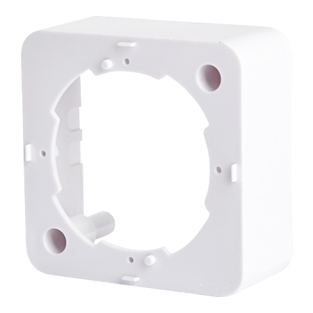 Aufputzrahmen für Antennendosen weiß