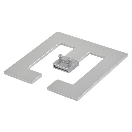 Bodenplatte für Kabelschlange Pro / Classic silber
