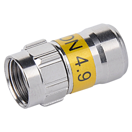 CABELCON Kompression F-Stecker 4,9 mm Self-Install
