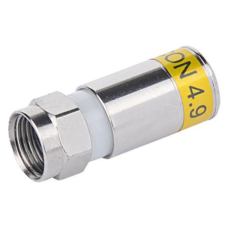 CABELCON Kompression F-Stecker 4,9 mm