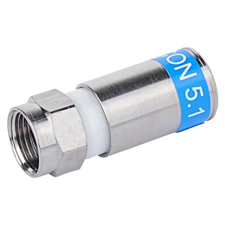 CABELCON Kompression F-Stecker 5,1 mm