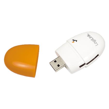 LogiLink Cardreader USB 2.0 Smile orange