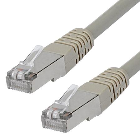 Cat.5e Patchkabel RJ45 LAN Kabel SF/UTP grau