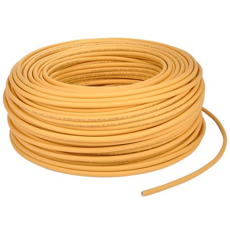 Cat.7 Netzwerkkabel S/FTP flexibel gelb