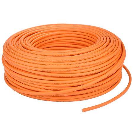 Cat.7 Netzwerkkabel S/FTP flexibel orange 25 m