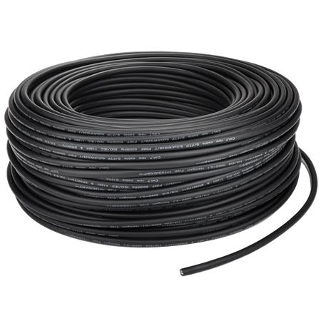 Cat.7 Netzwerkkabel S/FTP flexibel schwarz