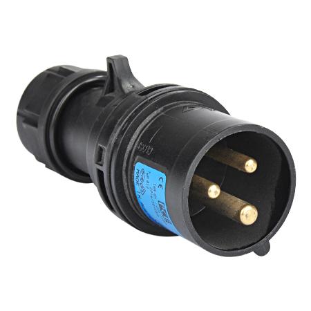 CEE Stecker Midnight 230V/3-polig