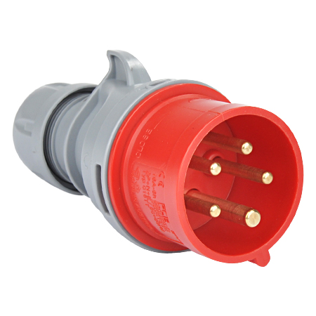 CEE Stecker Turbo Twist 400V/5-polig 16A