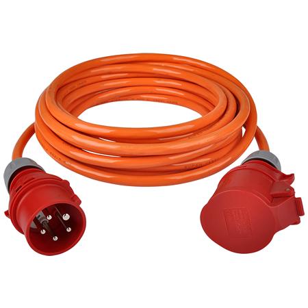 CEE Verlängerungskabel H07BQ-F 5x2,5 mm² 16 A