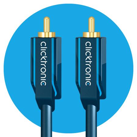 Clicktronic Audiokabel, Casual