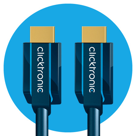 Clicktronic HDMI Kabel with Ethernet Casual-Serie
