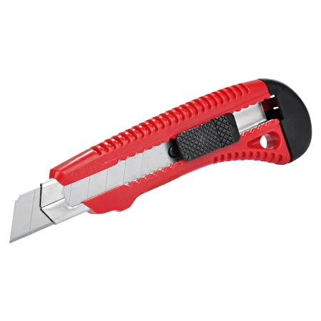 Cuttermesser Kunststoff mit Metallführung 18 mm