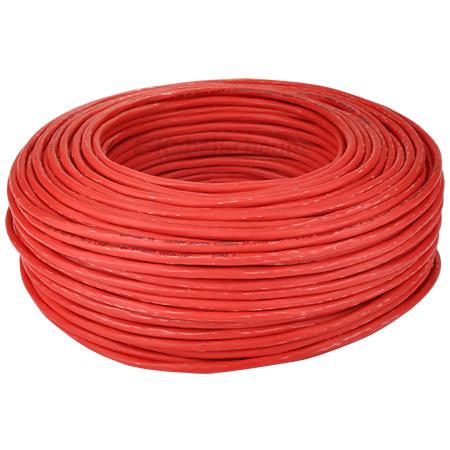 Draka UC900 Cat.7 Netzwerkkabel S/FTP flexibel rot