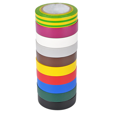 Elektro PVC Isolierband 15 mm Rolle 10 m