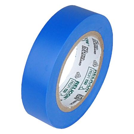 Elektro PVC Isolierband 15 mm Rolle 10 m blau