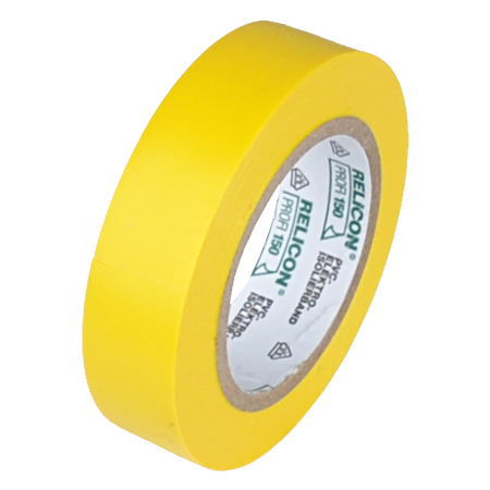 Elektro PVC Isolierband 15 mm Rolle 10 m gelb