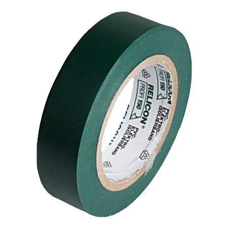 Elektro PVC Isolierband 15 mm Rolle 10 m grün