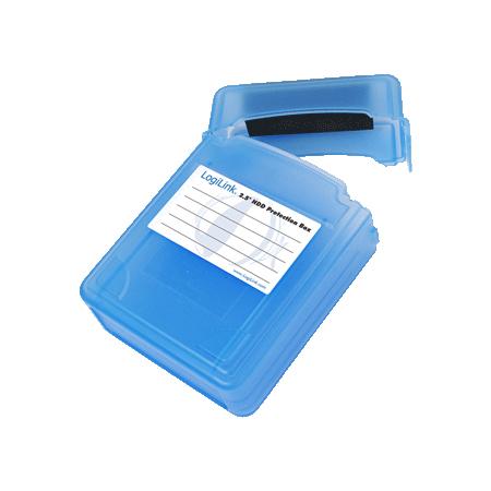 """LogiLink Festplatten Schutz-Box für 2x 6,35 cm (2,5"""") HDDs"""