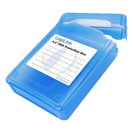 """LogiLink Festplatten Schutz-Box für 8,89 cm (3,5"""") HDDs"""