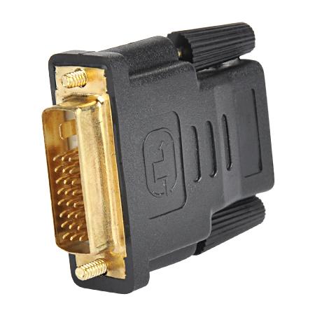 HDMI Kupplung auf DVI-D Stecker