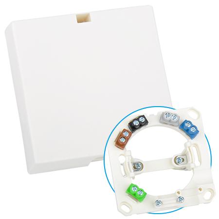 Herdanschlussdose Geräteanschlussdose Auf-/Unterputz weiß