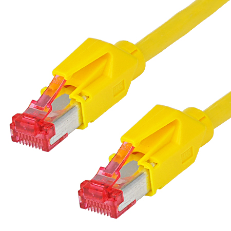 Hirose TM21 Patchkabel Draka UC900 LAN Kabel gelb