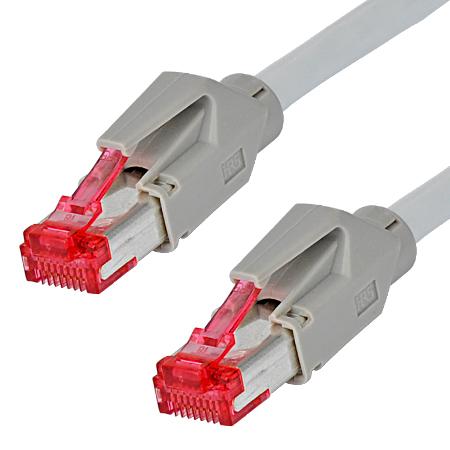 Hirose TM21 Patchkabel Draka UC900 LAN Kabel grau