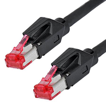 Hirose TM21 Patchkabel Draka UC900 LAN Kabel schwarz