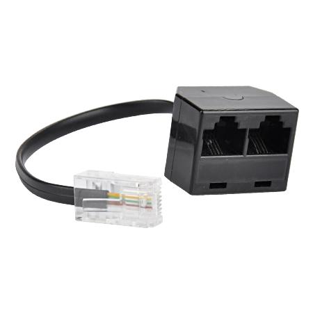 ISDN Verteiler 2-fach 8/4 (RJ45)