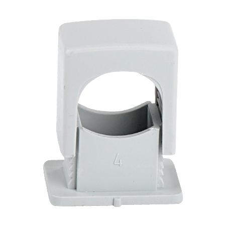 ISO Druckschelle 6-16 mm, grau 100 Stück