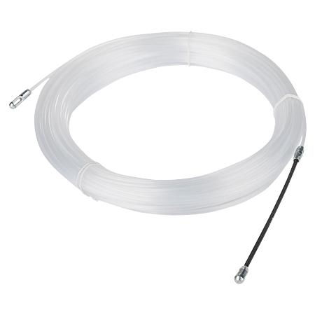 Kabel Einziehhilfe, Einziehspirale Kunststoff 20 m