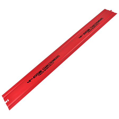 Kabelabdeckhaube rot Kabelhaube 120 mm