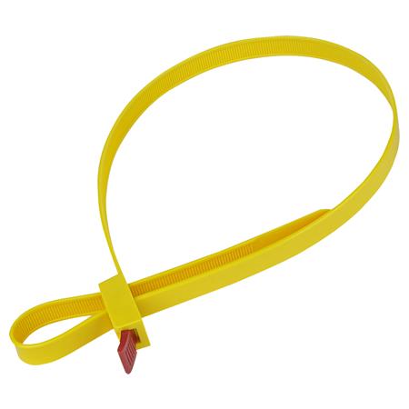 Kabelbinder lösbar 12x750 mm gelb 5 Stück