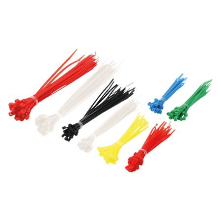Kabelbinder Set 200-teilig