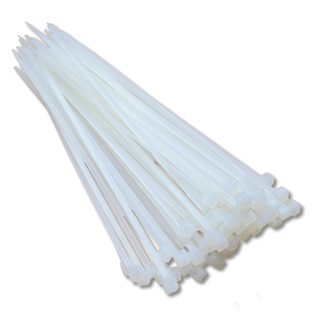 Kabelbinder transparent 100 Stück